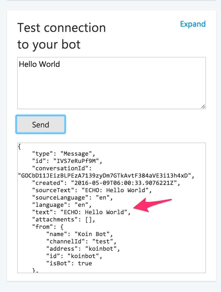 Create messenger bots using Elixir and Microsoft bot framework